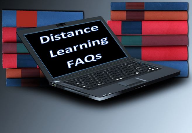 Distance Learning Questions (FAQs)