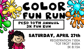 10th Annual 5k Color Fun Run
