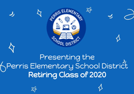 Perris Elementary School District's Retiring Class of 2020